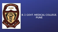 B.J Govt. Medical College, Pune