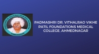 Padamshree Dr. Vithalrao Vikhe Patil Foundations Medical College, Ahmednagar